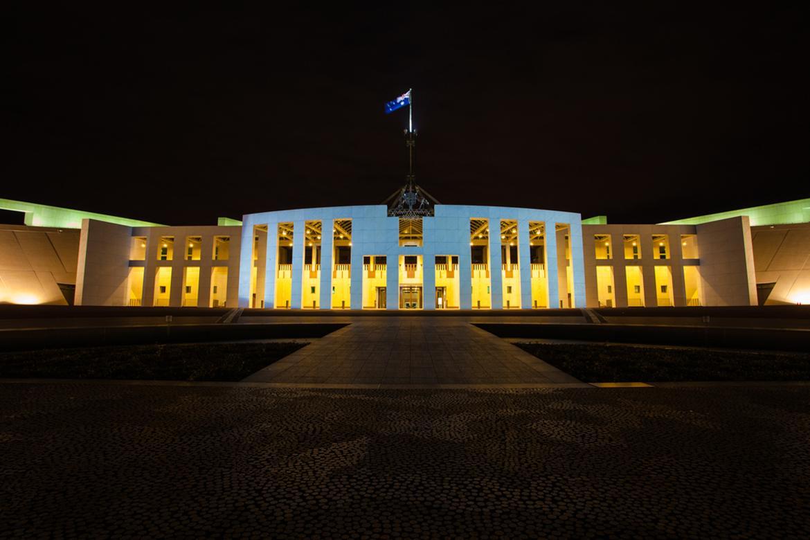 Parliament House - At Night